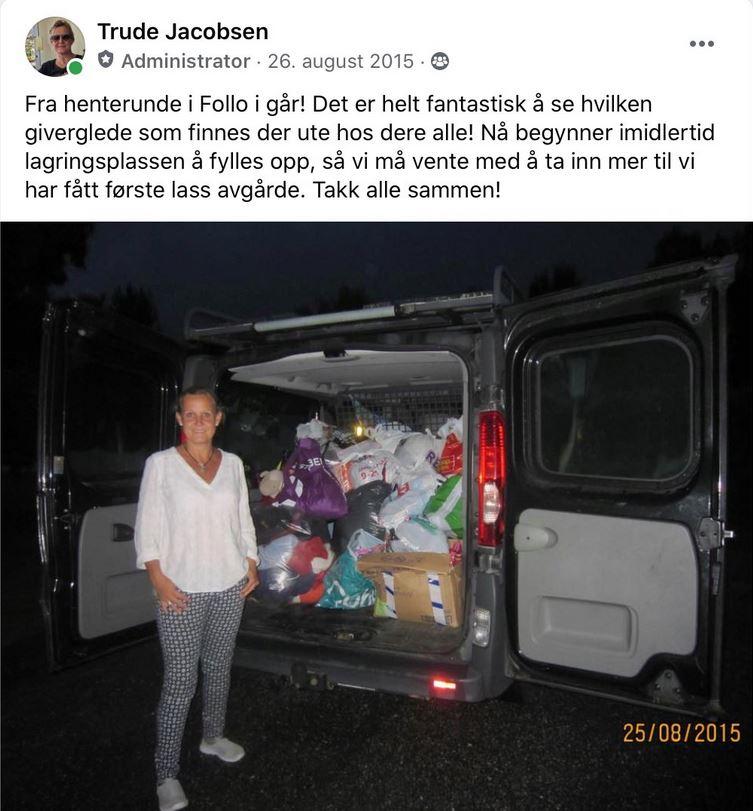 Trude Jacobsen FB innlegg 26.08.2015