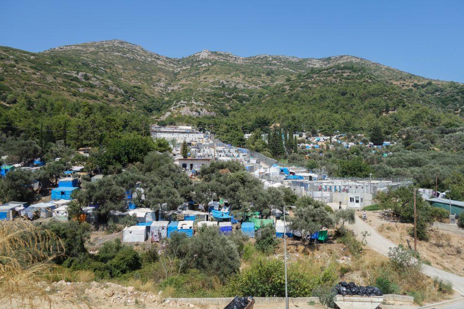 Vathi flyktningleir, Samos