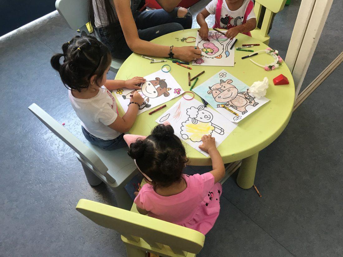 Childrens' activities, Skaramagas