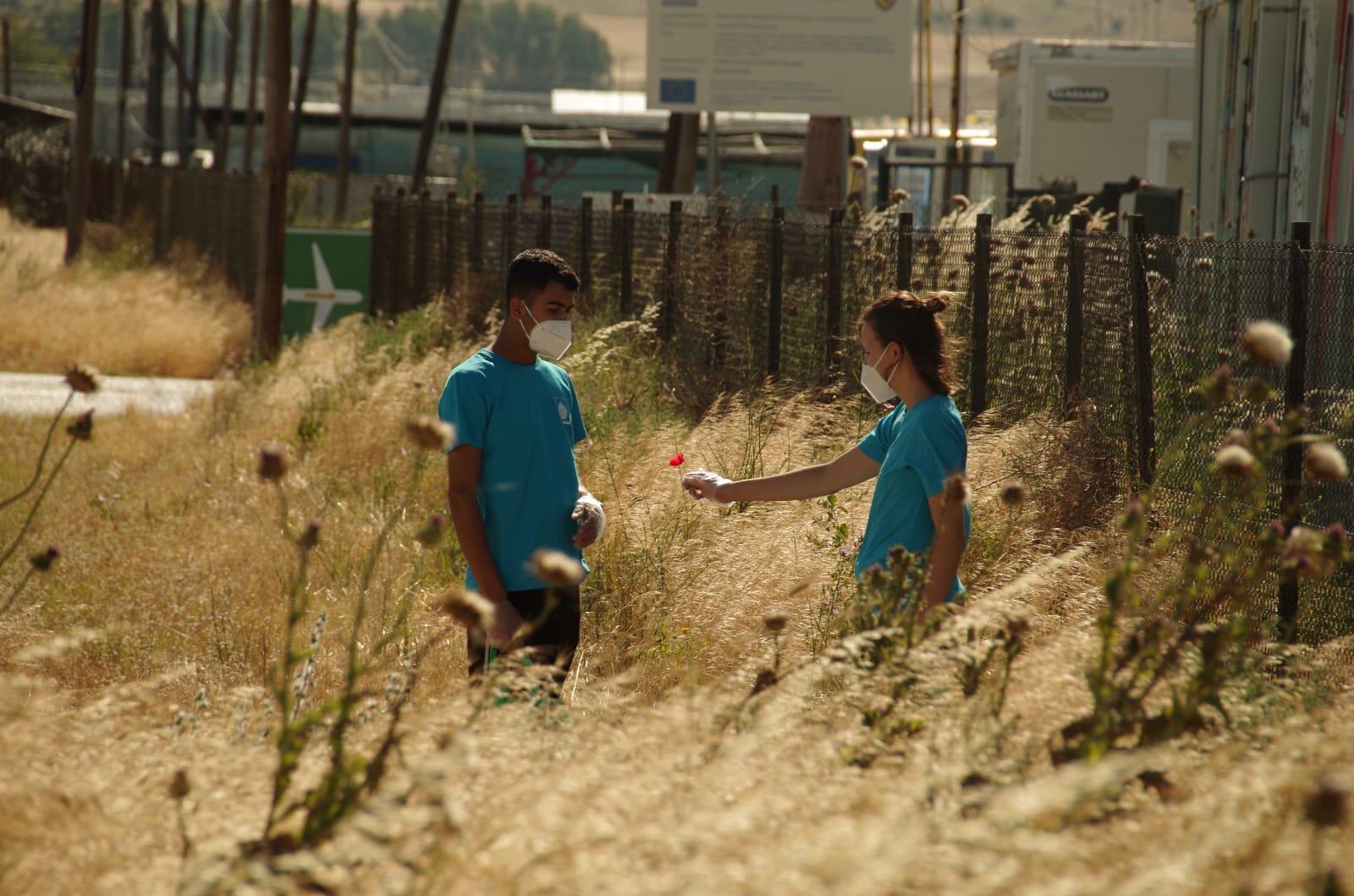 Nea Kavala flyktningleir refugee camp